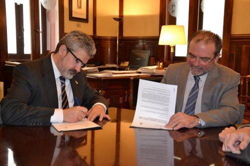 Conveni entre la Diputació de Lleida i l'Ajuntament de Balaguer per la gestió de les multes de trànsit