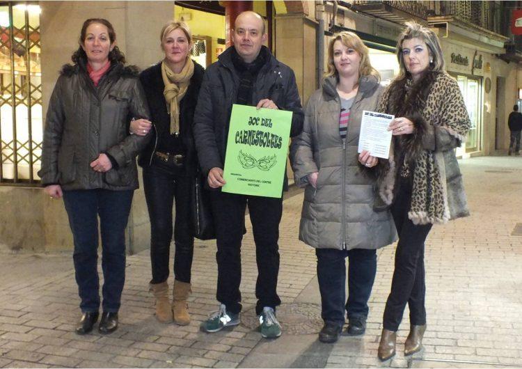Els comerciants del centre històric de Balaguer sortegen vals de compra per Carnestoltes