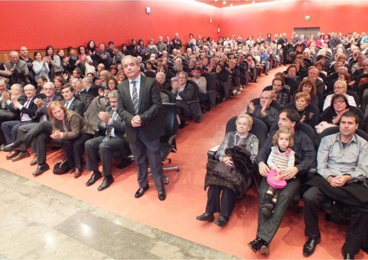 Homenatge a Joan Arjona per la seva jubilació en un acte de reconeixement per la feina feta al Servei Educatiu de la Noguera durant més de 25 anys