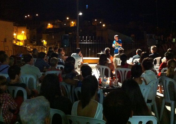 Tast de coca de samfaina a les nits d'estiu de Balaguer
