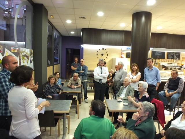 Els veïns de la plaça Lluís Companys de Balaguer n'avalen el projecte de remodelació