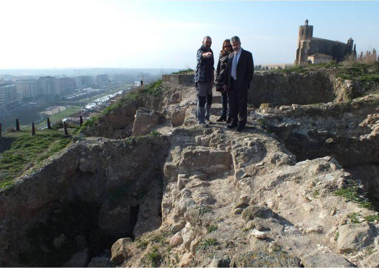 Comencen els treballs arqueològics per salvaguardar les restes del Castell Formós de Balaguer