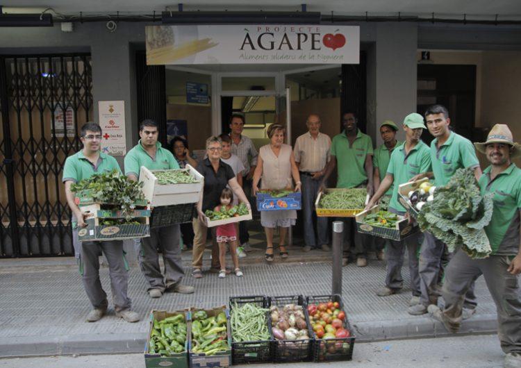 Alumnes de la Casa d'Oficis entreguen 1.300 quilos d'aliments a entitats socials de Balaguer