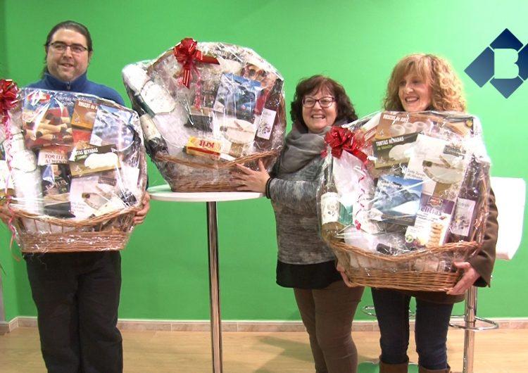 Els comerciants de l'Eix Urgell sortegen tres cistelles de Nadal