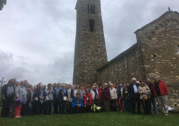 2a sortida del curs 2017-2018 de les Aules d'Extensió Universitària de la Noguera de Balaguer i Menàrguens