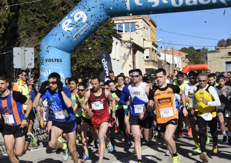 Pere Bifet i Rosamari Carulla, guanyadors de la 7a Cursa del Sucre de Menàrguens