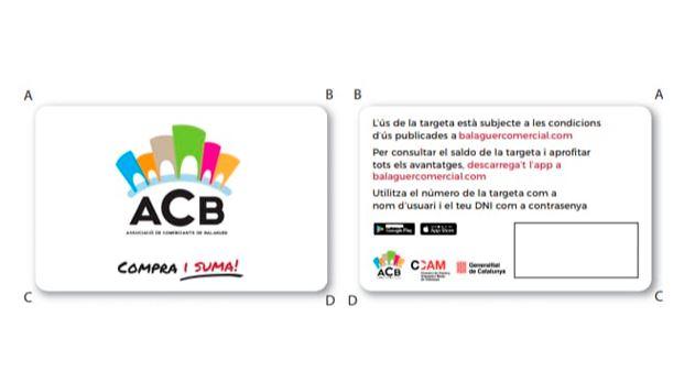 L'Associació de Comerciants de Balaguer ACB presentarà aquest divendres les targetes de fidelització de clients als seus associats