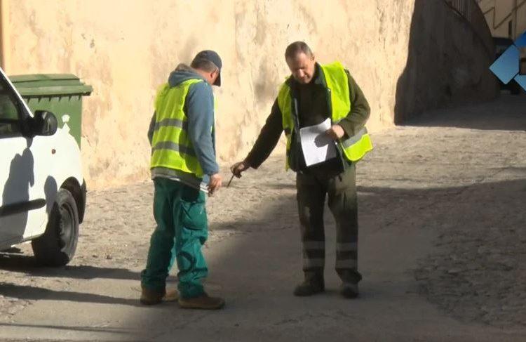 Comencen les obres de la taxa turística a Balaguer amb l'arranjament del carrer Santa Maria