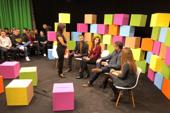 El Col·legi de Periodistes de la demarcació de Lleida celebra el Dia Mundial de la Televisió