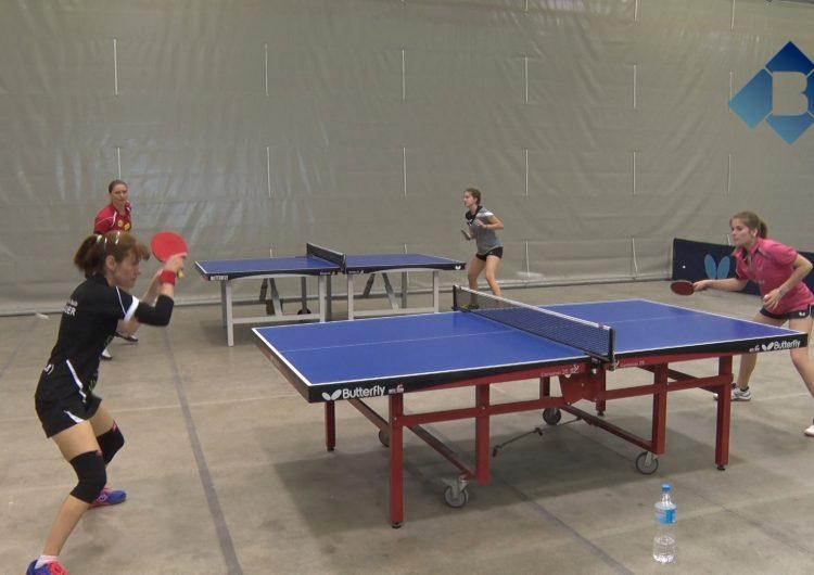 Les noies del Club Tennis Taula Balaguer preparen el Campionat d'Espanya i la Copa de la Reina