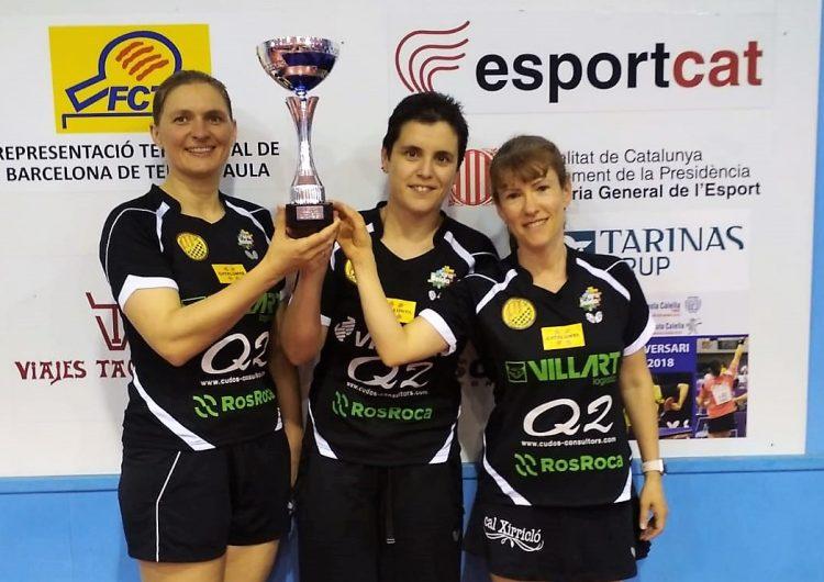 El Balaguer Villart Logístic campió de Catalunya per equips
