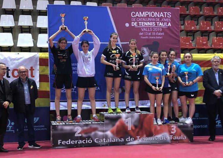 Gemma Lladonosa i Vinyet Solans or i plata sub21 al Campionat de Catalunya