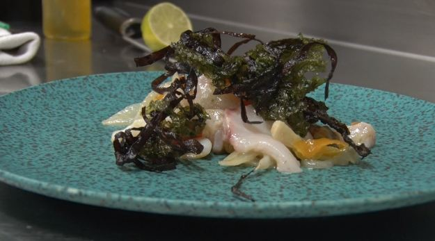 Toc de Xef 152: Cebiche de corball amb escopinyes del Restaurant Cal Xirricló