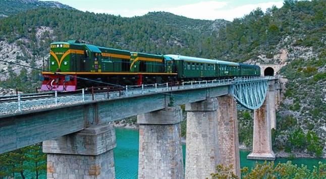 El Tren dels Llacs obre la temporada aquest dissabte 7 d'abril amb parada gastronòmica a Balaguer