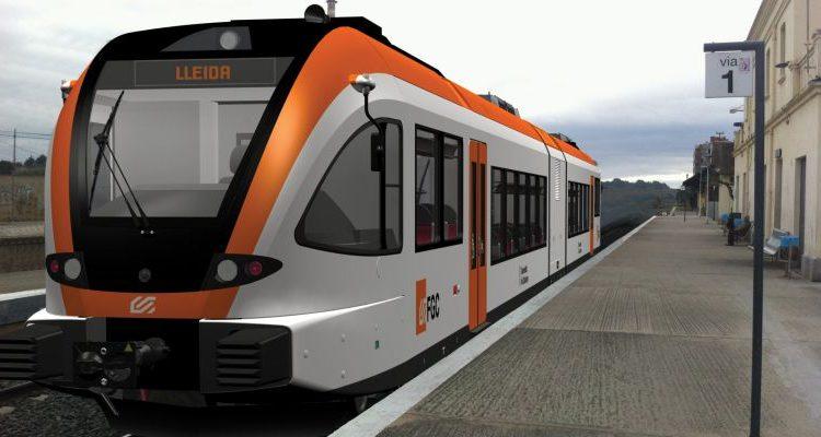 Tall de servei a la línia Lleida-La Pobla per manteniment d'una unitat de tren