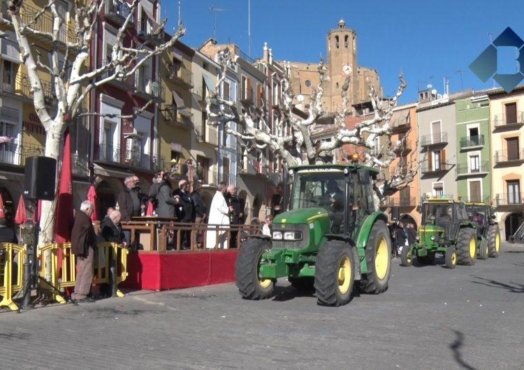 Balaguer celebra els Tres Tombs de Sant Antoni