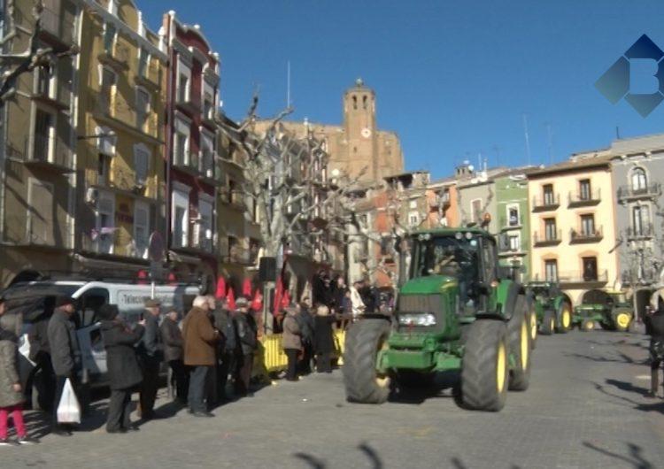 Tot a punt pels Tres Tombs de Sant Antoni a Balaguer