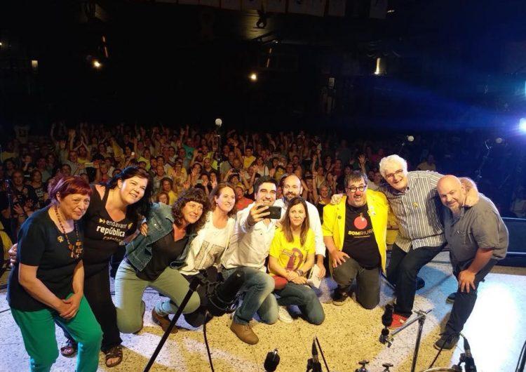 Concert en suport a Meritxell Serret i la resta de polítics presos i exiliats, a Vallfogona de Balaguer