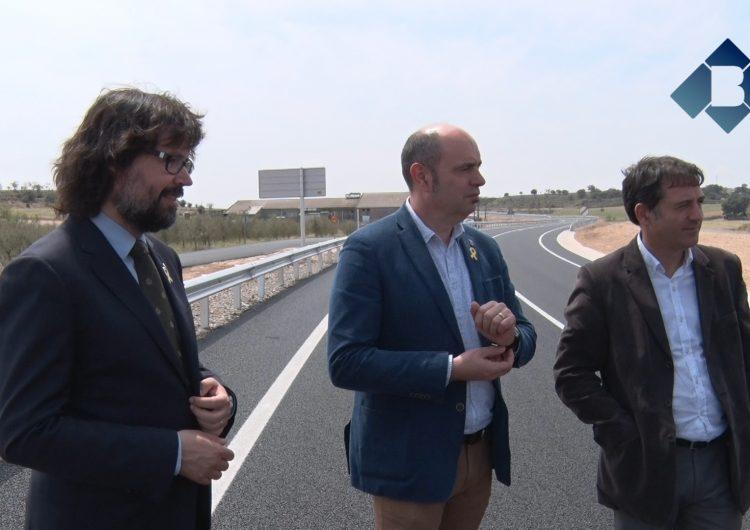 La variant nord-oest de Balaguer entrarà en funcionament a finals de mes
