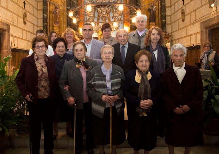 Butsènit d'Urgell celebra la Festa de la Vellesa per retre homenatge als veïns de més de 90 anys