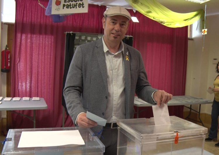 """Jordi Ignasi Vidal (ERC): """"Animo a la gent a que decideixi, a que participi de la democràcia"""""""