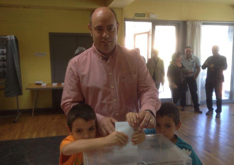 Jordi Ignasi Vidal d'ERC: 'Avui és la gran festa de la democràcia'