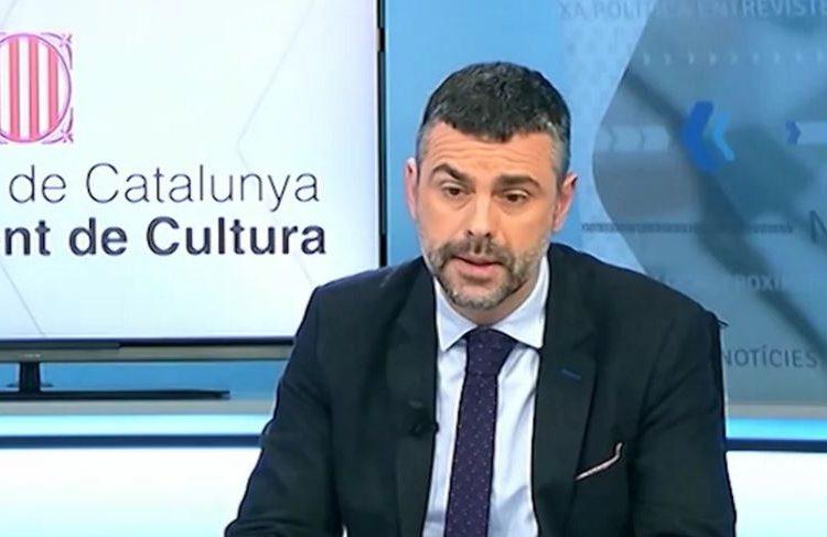 El conseller Vila a favor del retorn dels sepulcres dels comtes d'Urgell a través de la projecció 3D