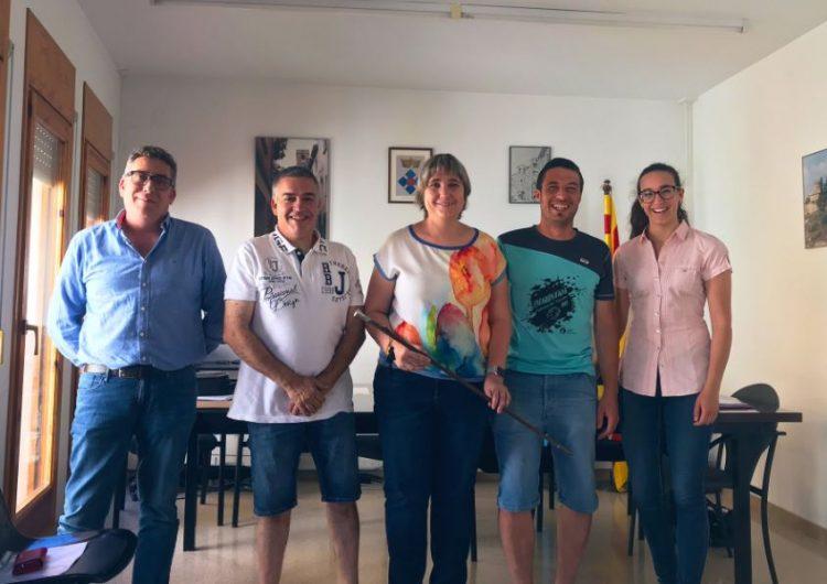 Montserrat Fornells, reelegida com a alcaldessa de Vilanova de l'Aguda