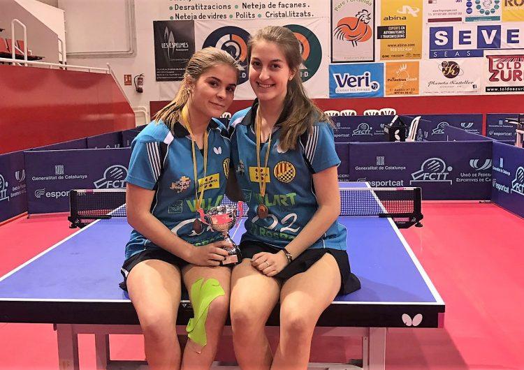 Gemma Lladonosa i Vinyet Solans, bronze per equips al Campionat de Catalunya
