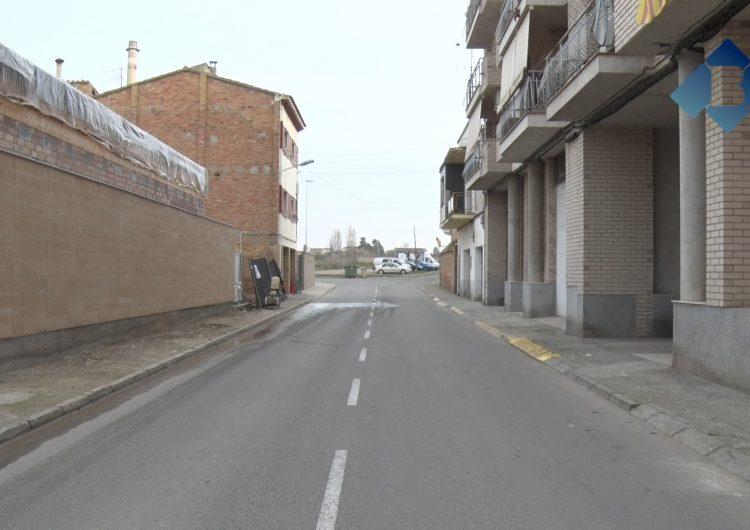 L'Ajuntament de Balaguer arranja diverses voreres a través del programa Treball i Formació