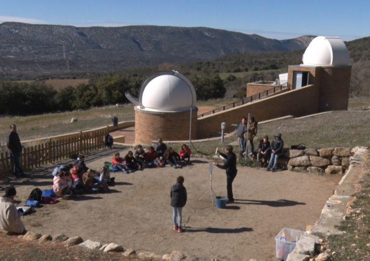 El Centre d'Observació de l'Univers d'Àger camí d'assolir un nou rècord de visitants
