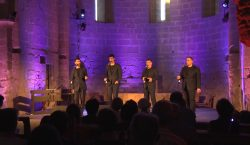 The Gourmets Vocal Quartet tanquen el 8è Juliol de Música…