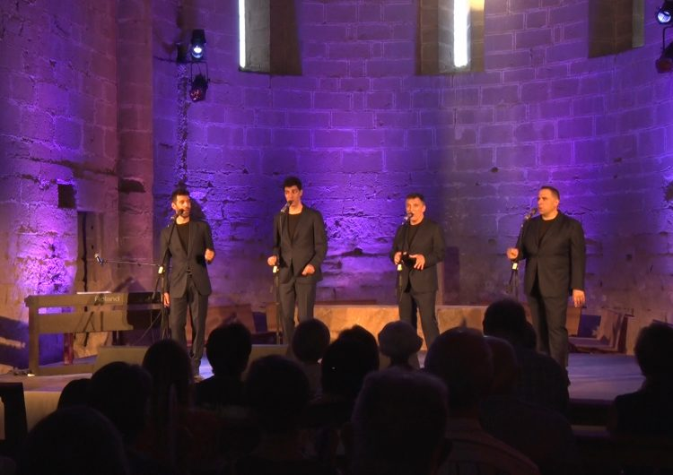 The Gourmets Vocal Quartet tanquen el 8è Juliol de Música i Poesia