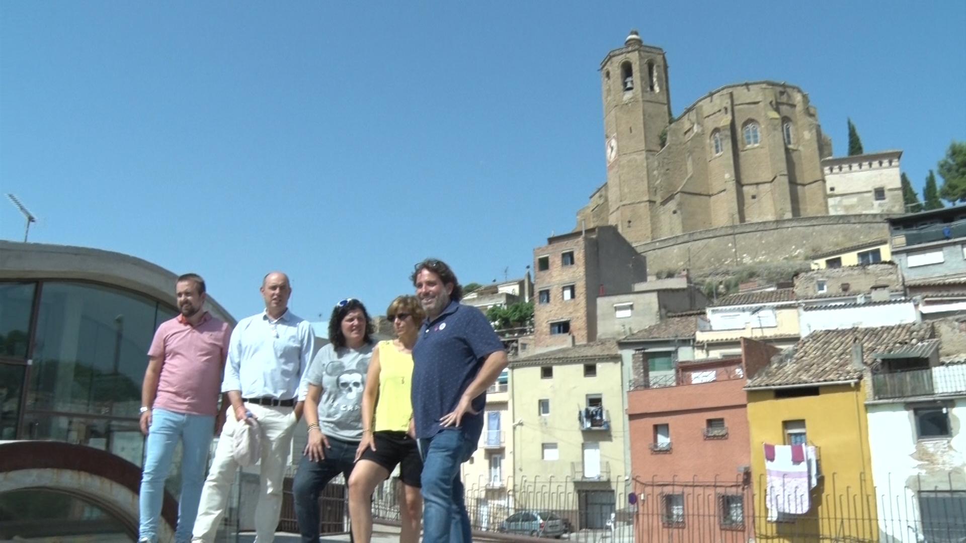 Cesc Poch, director general de l'Agència Catalana de la Joventut, visita la Noguera