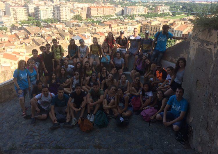 Una quarantena de joves de la Noguera i l'Alt Empordà participen a l'Encomarca't