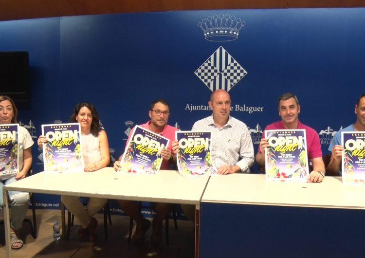L'Associació de Comerciants de Balaguer prepara la 5a edició de l'Open Night