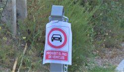 Prohibeixen l'accés de vehicles a la zona recreativa Maria Rúbies…