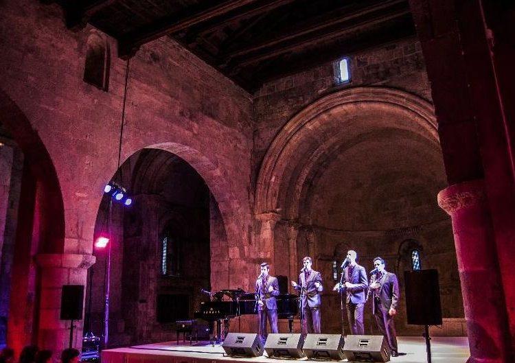 The Gourmets Vocal Quartet tanca, aquest diumenge, el 8è Juliol de Música i Poesia