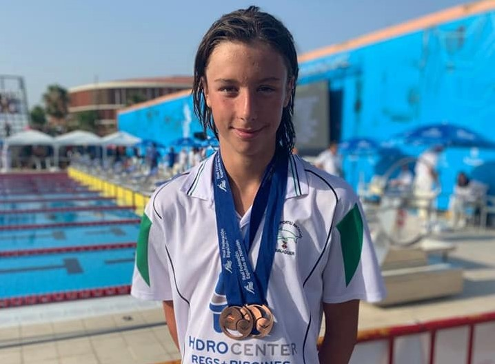 Dos medalles de bronze per Arnau Pifarré al Campionat Estatal de Natació Aleví