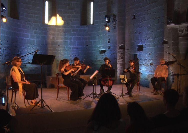 Diumenge de música i poesia a Balaguer amb Atenea Quartet, Enric Arquimbau i Carme Alòs