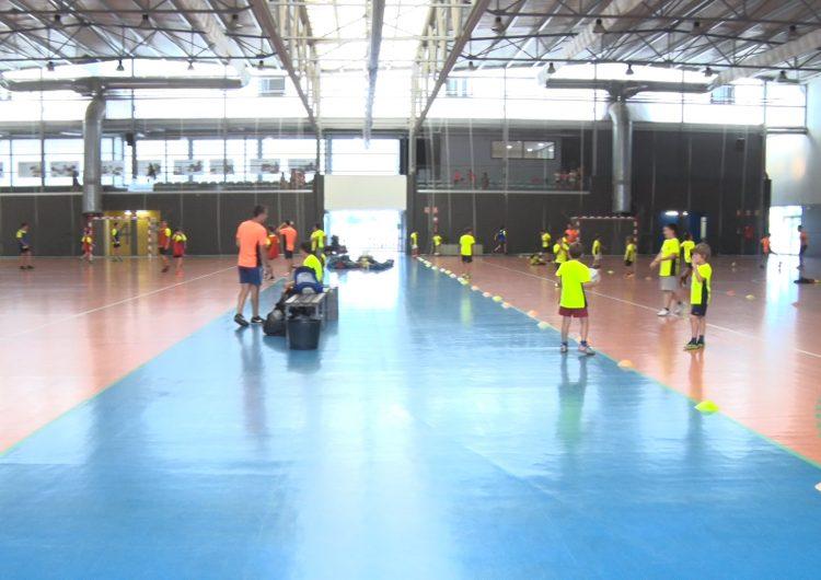 Una cinquantena de joves participen al campus de tecnificació del CFS Balaguer Vedruna