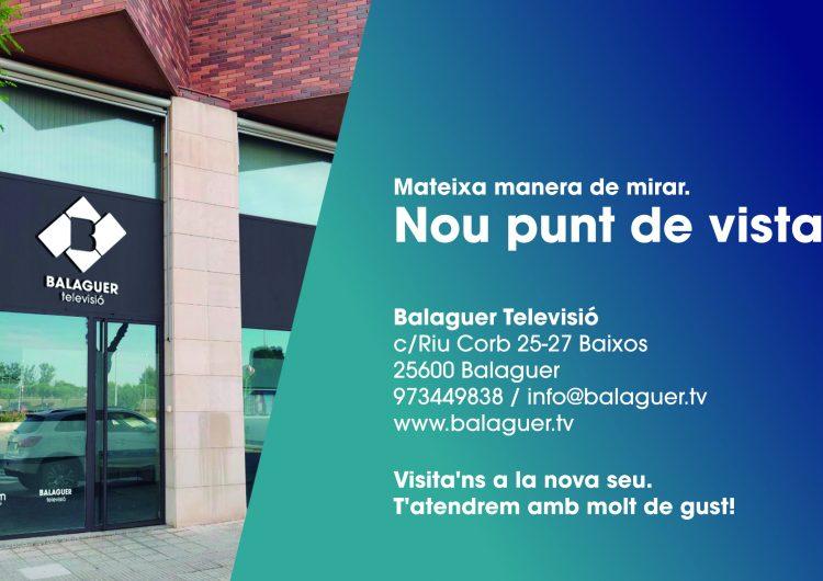 Balaguer Televisió estrena noves oficines