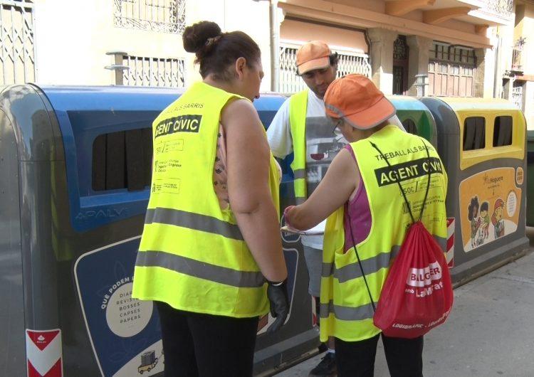 Balaguer fa una diagnosi de l'ús de les illes de reciclatge per millorar la seva recollida