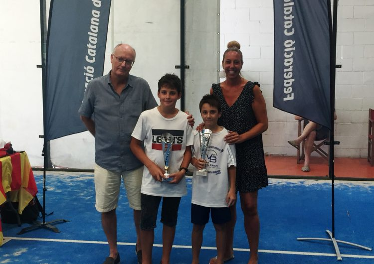 El balaguerí Íker Castillo, campió aleví del IV Super Gran Slam de menors del Circuit Català de Pàdel