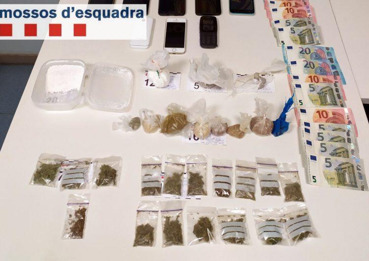 Els Mossos d'Esquadra detenen tres homes per vendre heroïna a Balaguer