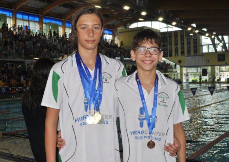 El CEN Balaguer guanya 5 medalles al Campionat de Catalunya de Natació Aleví
