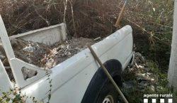 Els Agents Rurals denuncien una persona per abocar runes en…
