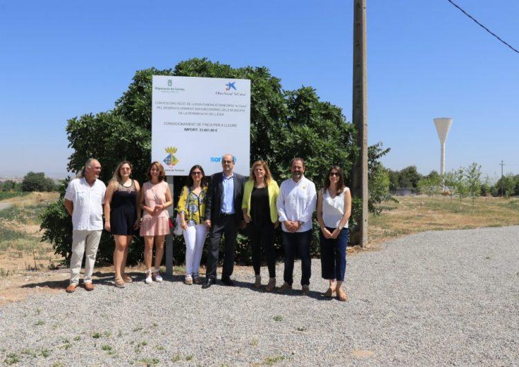 Térmens inaugura un nou espai per a lleure i les reformes de les piscines municipals