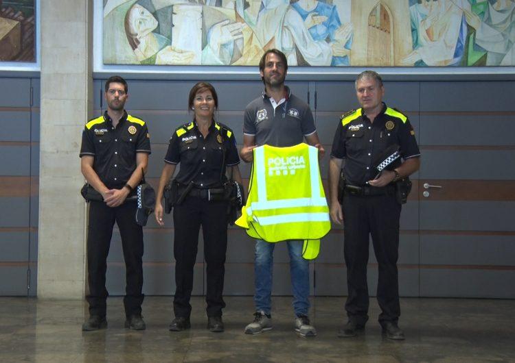 La Guàrdia Urbana de Balaguer ja porta el nou model d'uniforme