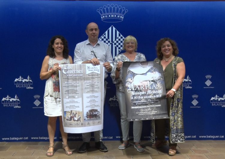 Balaguer rememorarà el seu passat històric amb una nova edició de l'Harpia